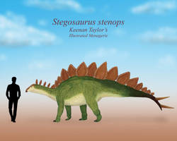 Sophie the Stegosaurus by IllustratedMenagerie