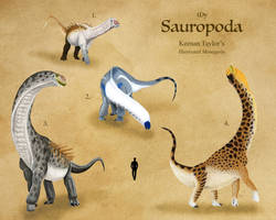 My Sauropoda by IllustratedMenagerie