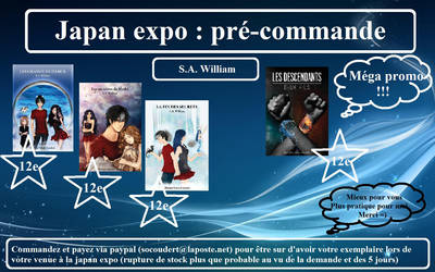 precommande Japan expo by Sawilliam