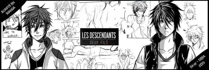 Les descendants en manga ! by Sawilliam