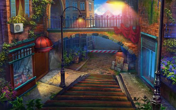 Light street by julijuly