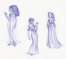 Ancient Ladies by kuabci