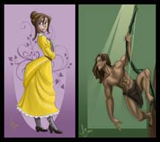 Me Tarzan, You Jane by kuabci