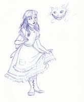Disney Un-Disneyed: Alice by kuabci