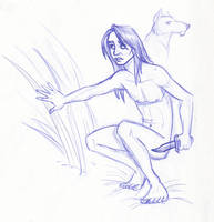 Disney Un-Disneyed: Mowgli by kuabci