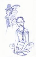 Disney Un-Disneyed: Pocahontas by kuabci