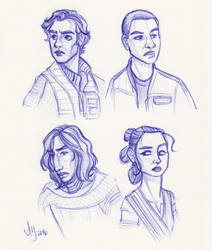 New Kids On the Star Wars Block by kuabci