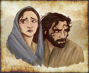Two For Bethlehem by kuabci