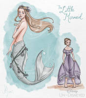 Disney Un-Disneyed: The Little Mermaid (P) by kuabci