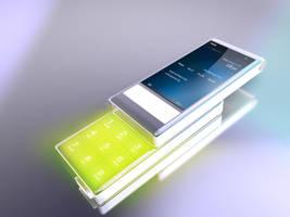 Phone 3d Render by Justflikwalk