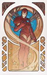 IronMan by Design: Art Nouveau by johntylerchristopher