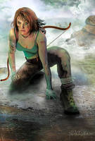 Lara Begins by Nikkinox