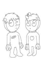Twins. by RedGekkouga