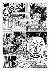 Zombie Ted: The Clown Page 1 by stuntedsanity