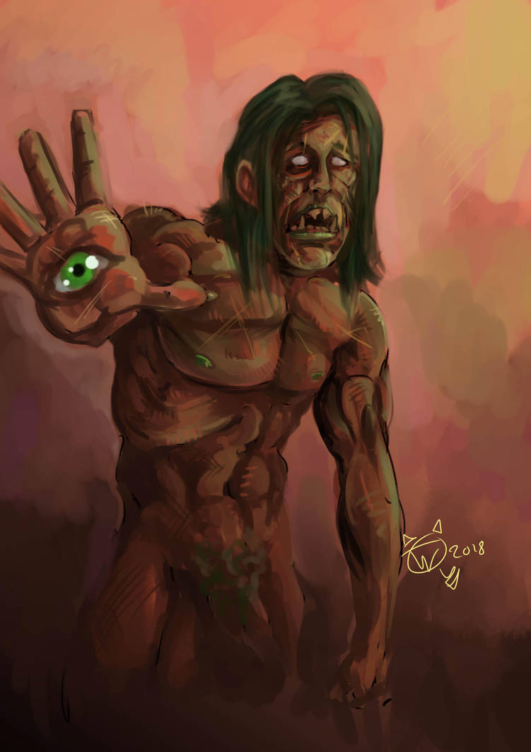 Zombie Monster Thing by stuntedsanity