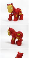 My Little Iron Man by Spippo