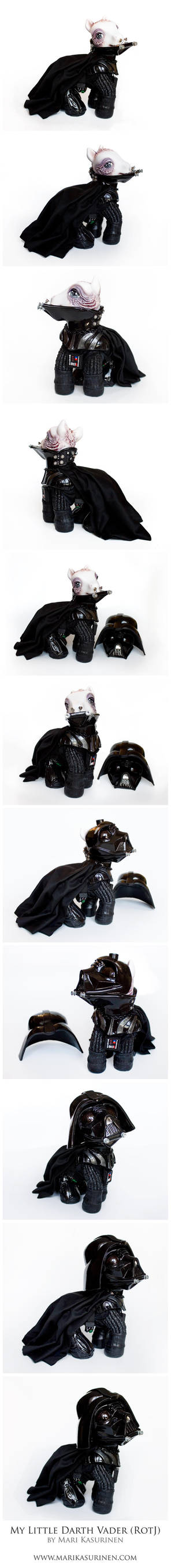 My Little Darth Vader (RotJ) by Spippo