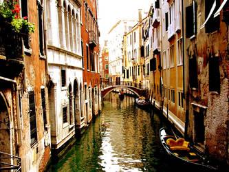 Venician Canals redux by miikey