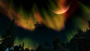 Skyrim Night by AydenSnow