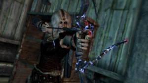Daedric Sniper Bow by AydenSnow