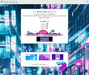 (Core) f2u vaporwave html by gucci-s