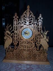 vermont clock by scrollsawbear