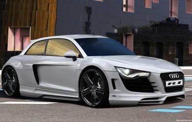 Audi R1 by 19guly91