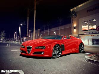 Alfa Romeo Spyder by 19guly91