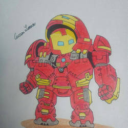 hulkbuster by Cecco17
