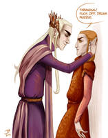 When your neighbor is Thranduil by JennieMaher