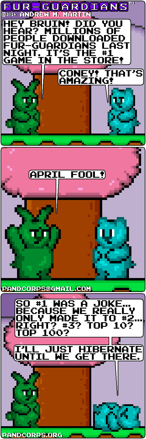Furry Funny, April Fools' Day by pandcorps