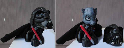 My Little Pony Darth Vader by Tat2ood-Monster