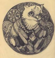 owl by Wolf-paranoiac