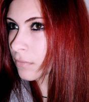 Cute redhead by DeadBlackPanter