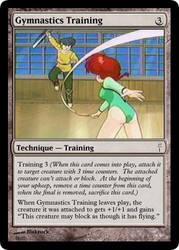 Gymnastics Training by blakrock