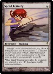 Speed Training by blakrock