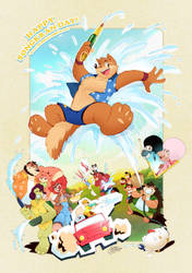 Happy Songkran day by PitiYindee