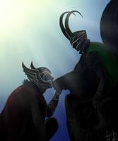 Thor Loki by Mortime-R