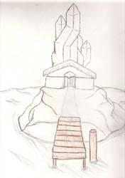 Grand Cornerstone Shrine by SauronBane