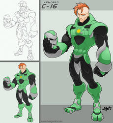 Armored C-16 by Tony Stark 2 by TetraGyom