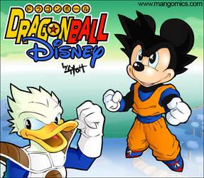 Dragonball Disney by TetraGyom