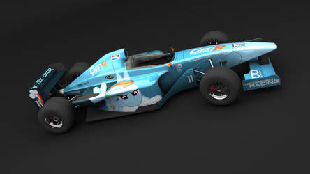 MLP:FiM - Rainbow Dash Racing Livery by FireDragon23