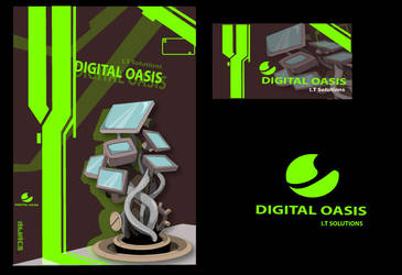 digital oasis logo try out by 300dayssideways