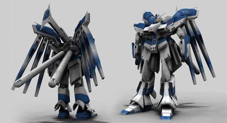 Gundam Rx93-Hi-Nu by vw85