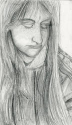YEET (self portrait) by Bluedrawingmachine