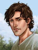 Cedric Portrait by artbytravis