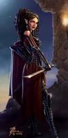 Elf Rogue by artbytravis