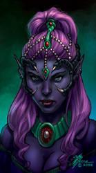 Karinas Portrait by artbytravis