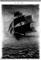Ship In Storm by Bubu007