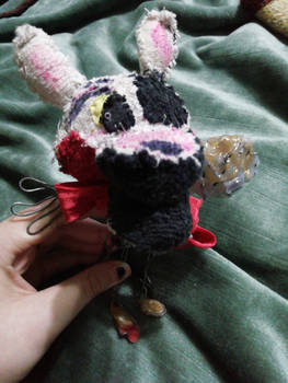 Hand made The Mangle plushie by TheNetherWolf